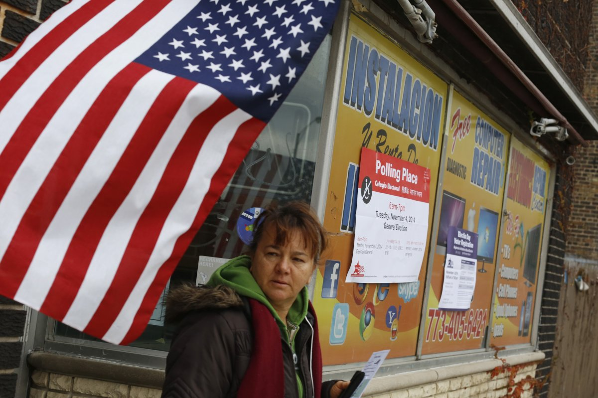 24 dos lugares mais estranhos onde os americanos votaram no dia de eleição 21