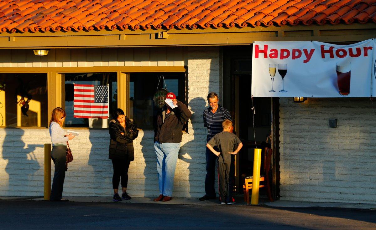 24 dos lugares mais estranhos onde os americanos votaram no dia de eleição 23