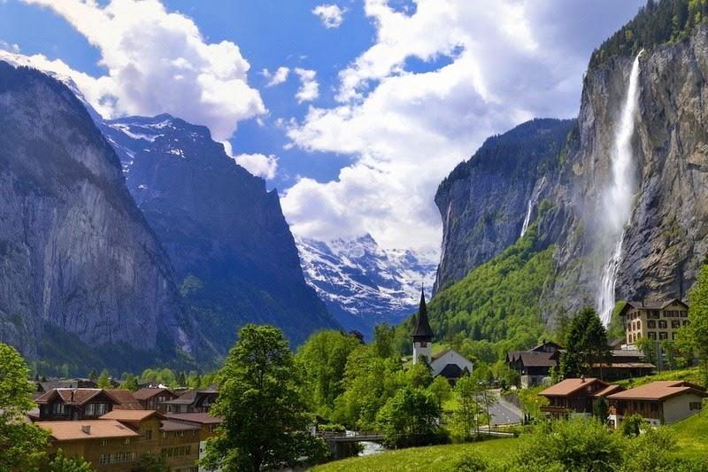 Lauterbrunnen: o vale das 72 cachoeiras 07