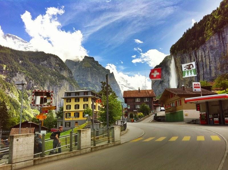 Lauterbrunnen: o vale das 72 cachoeiras 08