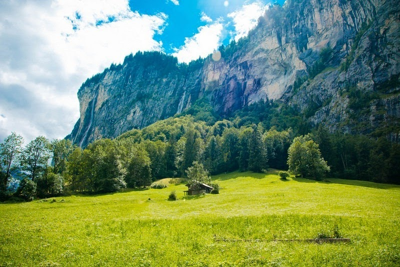 Lauterbrunnen: o vale das 72 cachoeiras 09