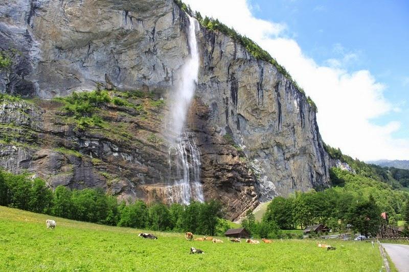 Lauterbrunnen: o vale das 72 cachoeiras 11