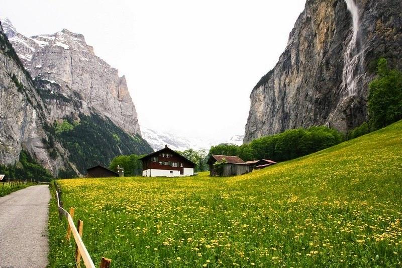Lauterbrunnen: o vale das 72 cachoeiras 12