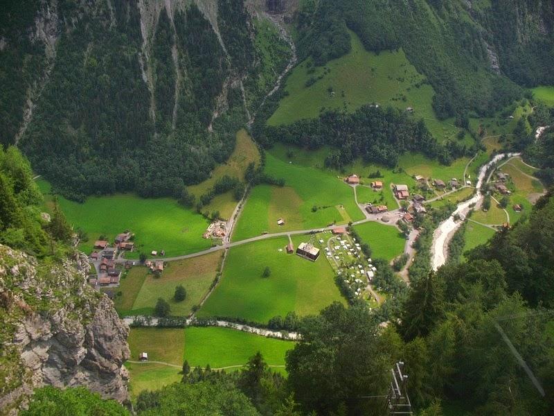 Lauterbrunnen: o vale das 72 cachoeiras 13