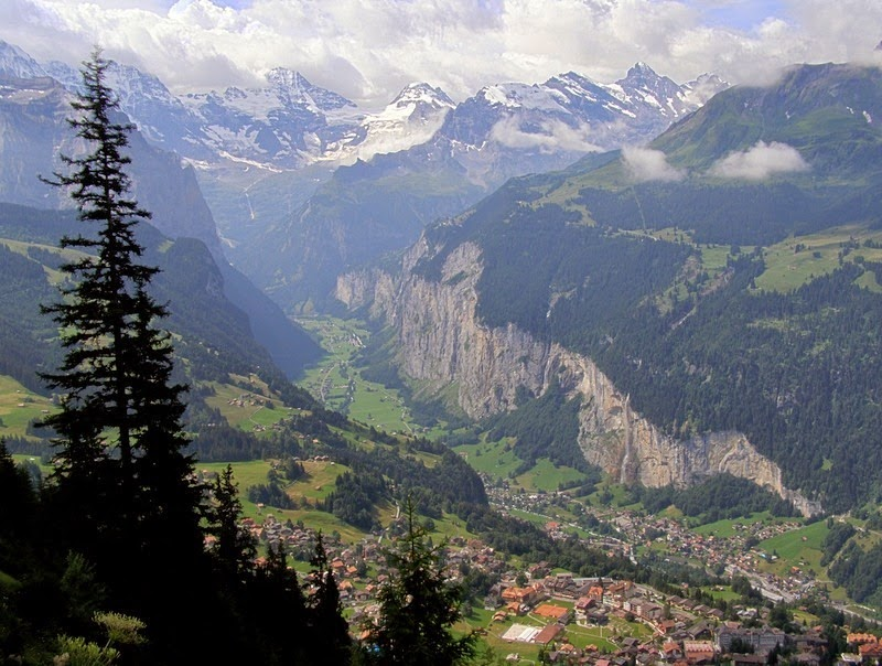 Lauterbrunnen: o vale das 72 cachoeiras 14