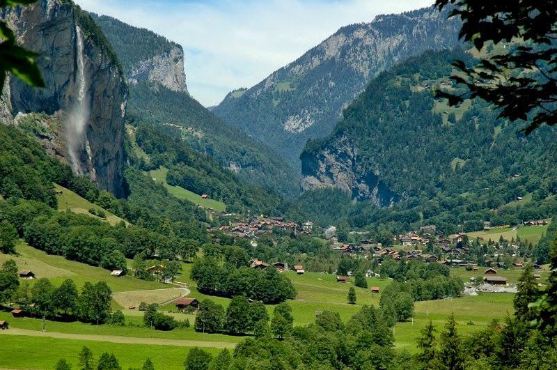 Lauterbrunnen: o vale das 72 cachoeiras 15