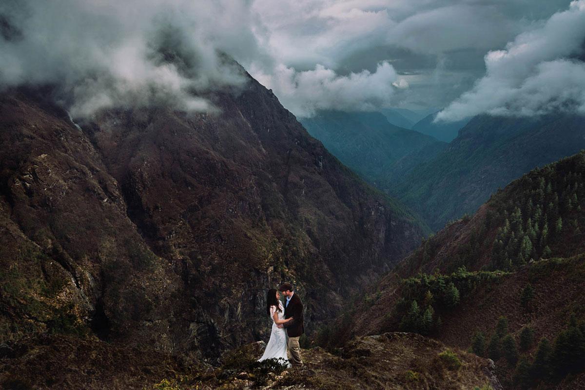 23 fotografias de casamento em inesquecíveis paisagens ao redor do mundo 17