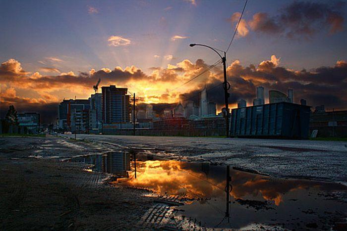 Skylines urbanos em HDR - Onde a realidade encontra a imaginação 02