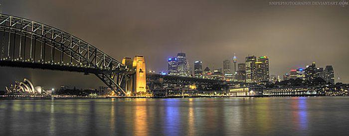 Skylines urbanos em HDR - Onde a realidade encontra a imaginação 03