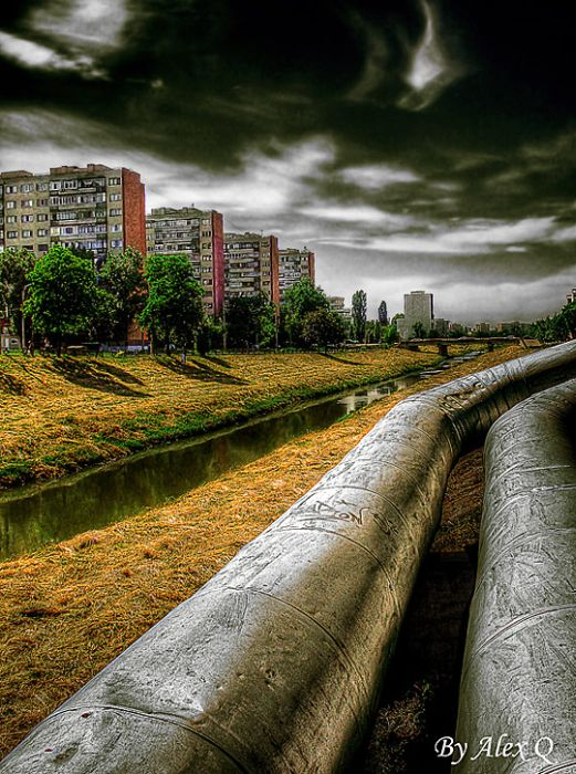 Skylines urbanos em HDR - Onde a realidade encontra a imaginação 04