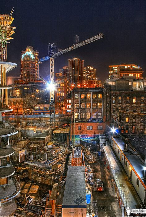 Skylines urbanos em HDR - Onde a realidade encontra a imaginação 09