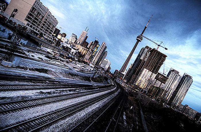 Skylines urbanos em HDR - Onde a realidade encontra a imaginação 15