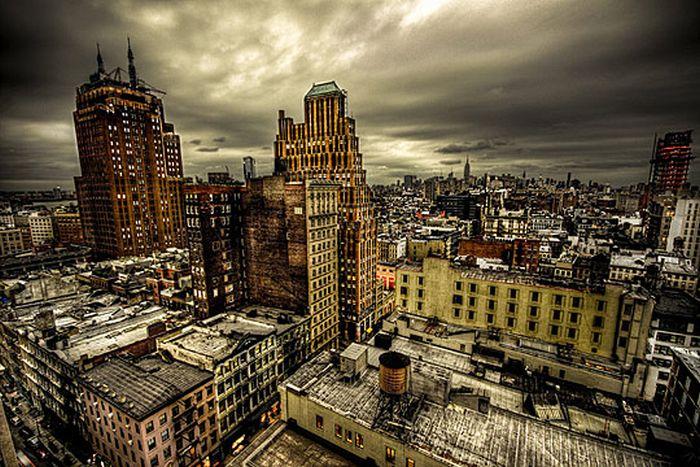 Skylines urbanos em HDR - Onde a realidade encontra a imaginação 22