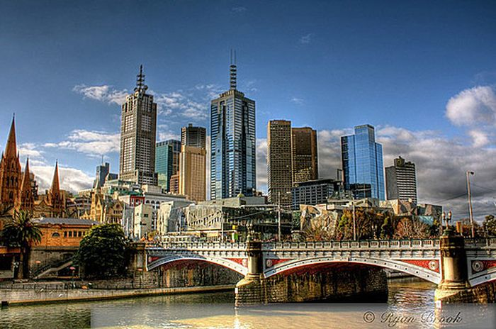 Skylines urbanos em HDR - Onde a realidade encontra a imaginação 30