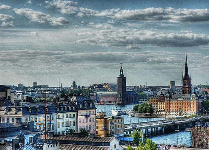 Skylines urbanos em HDR - Onde a realidade encontra a imaginação 42