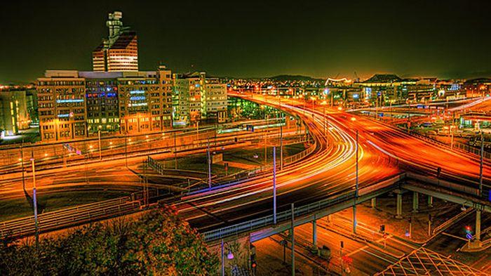 Skylines urbanos em HDR - Onde a realidade encontra a imaginação 48