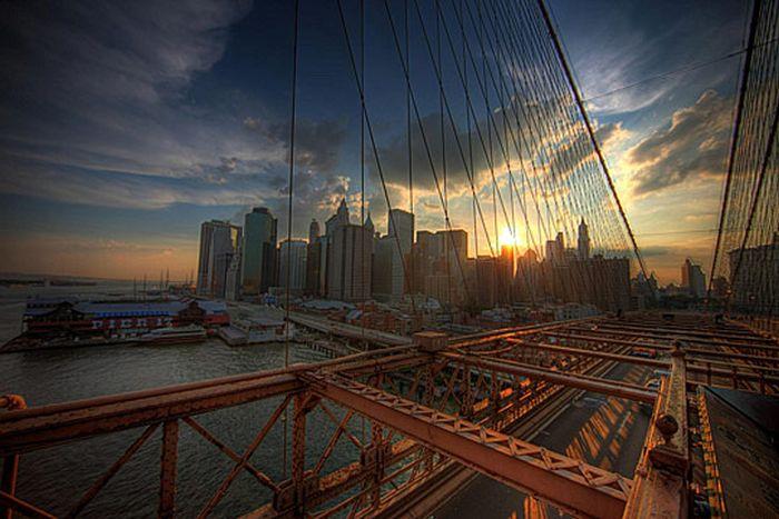 Skylines urbanos em HDR - Onde a realidade encontra a imaginação 49