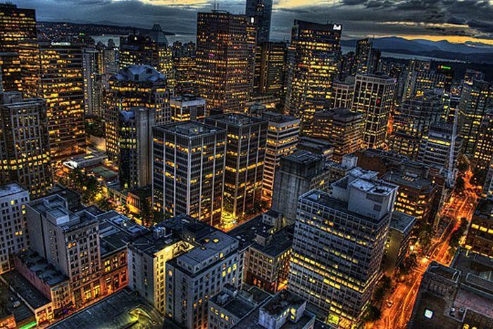 Skylines urbanos em HDR - Onde a realidade encontra a imaginação 63