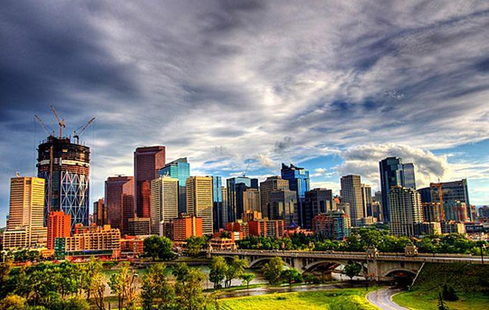 Skylines urbanos em HDR - Onde a realidade encontra a imaginação 68