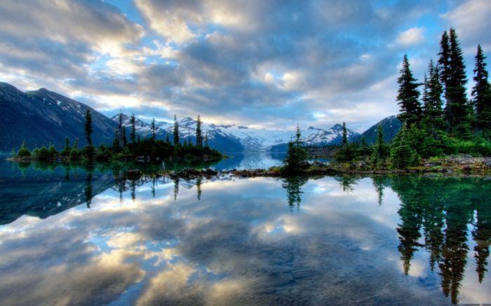 Belas paisagens dedicadas a mulher em seu dia 01