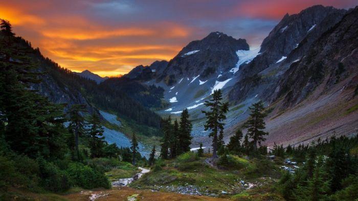 Belas paisagens dedicadas a mulher em seu dia 18
