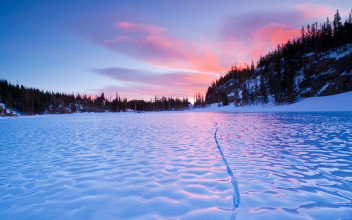 Belas paisagens dedicadas a mulher em seu dia 25