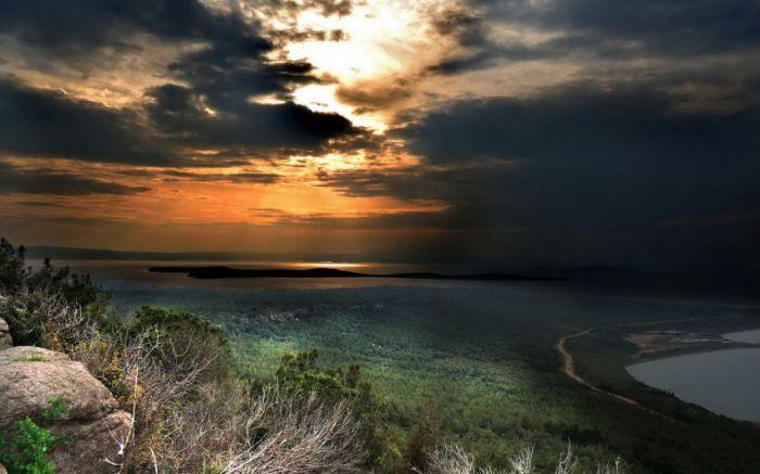 Belas paisagens dedicadas a mulher em seu dia 32