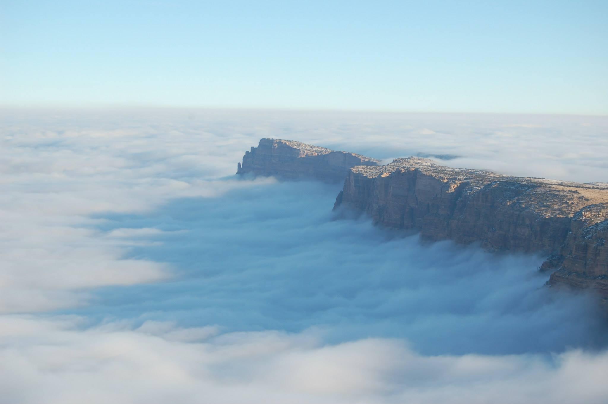 """Raro evento transforma o Grand Canyon em uma fabulosa """"cidade entre as nuvens"""" 03"""