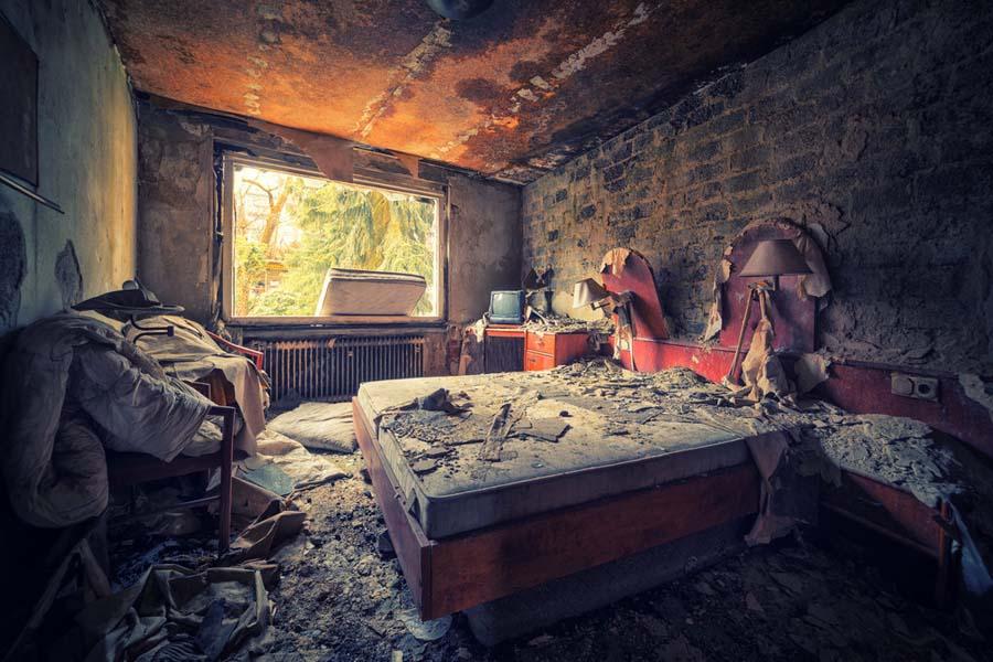 A beleza assombrosa de prédios abandonados registrados por um fotógrafo 25