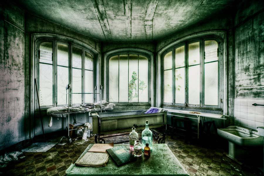 A beleza assombrosa de prédios abandonados registrados por um fotógrafo 30