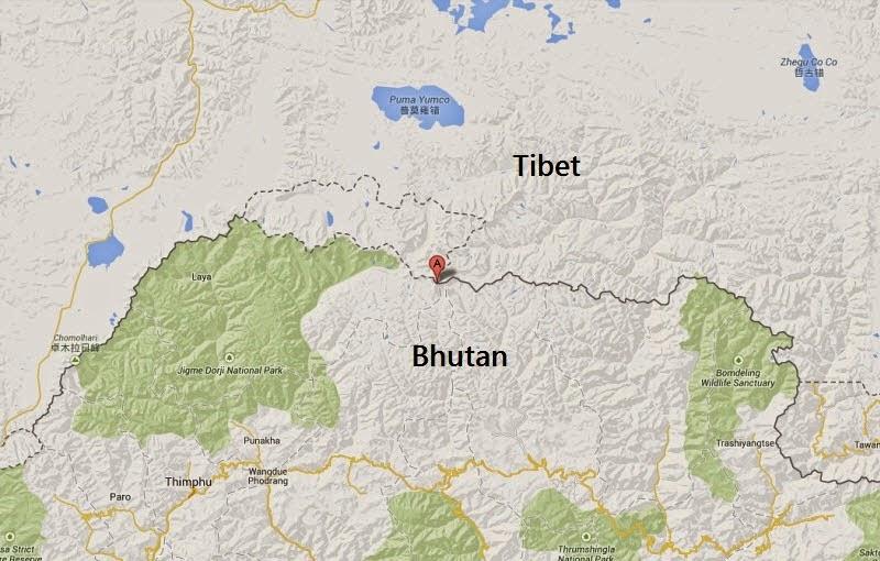 Gangkhar Puensum: a montanha mais alta ainda n�o escalada no Mundo 02
