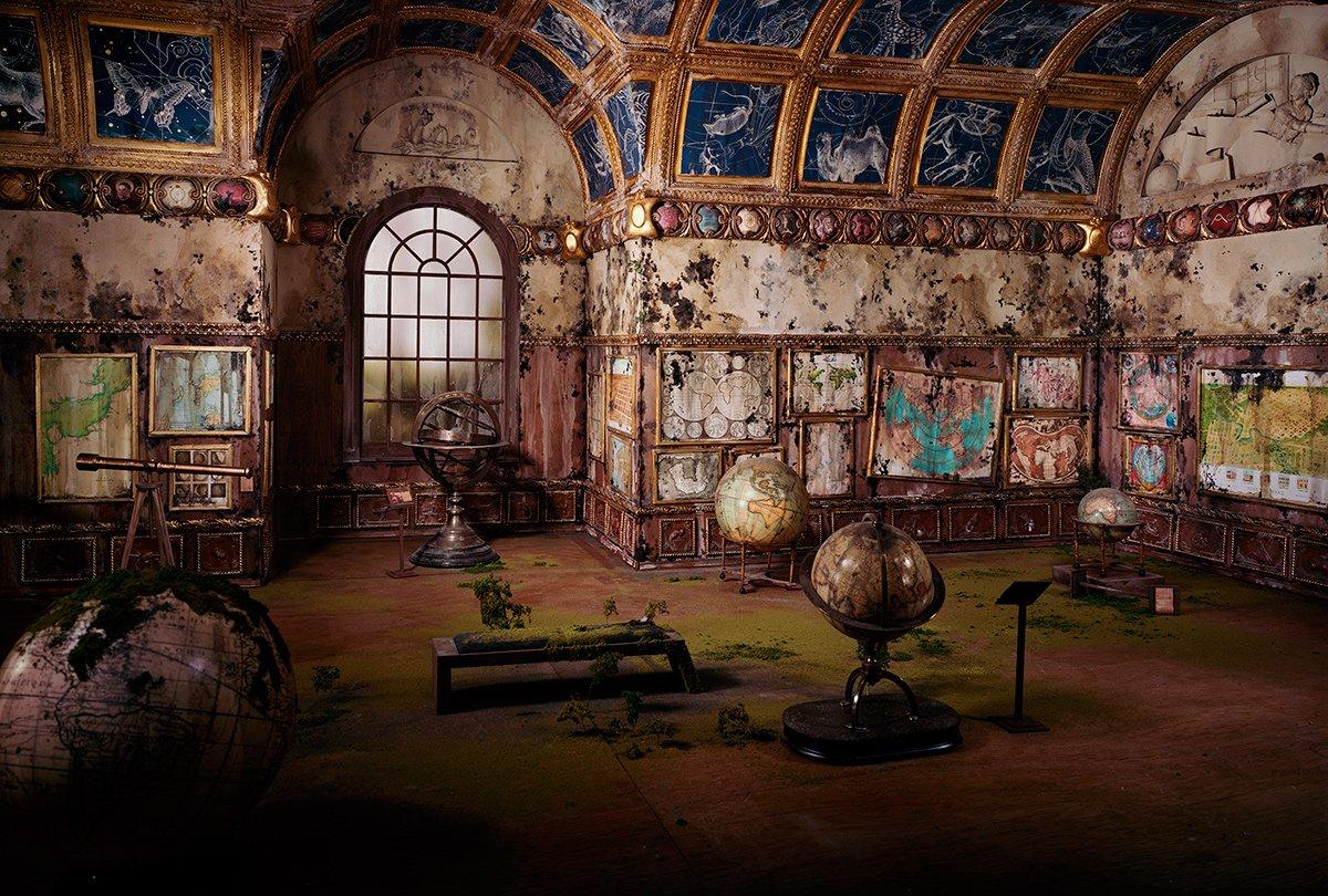 Fotos mostram lugares abandonados em um mundo pós-apocalíptico que em realidade são dioramas 03