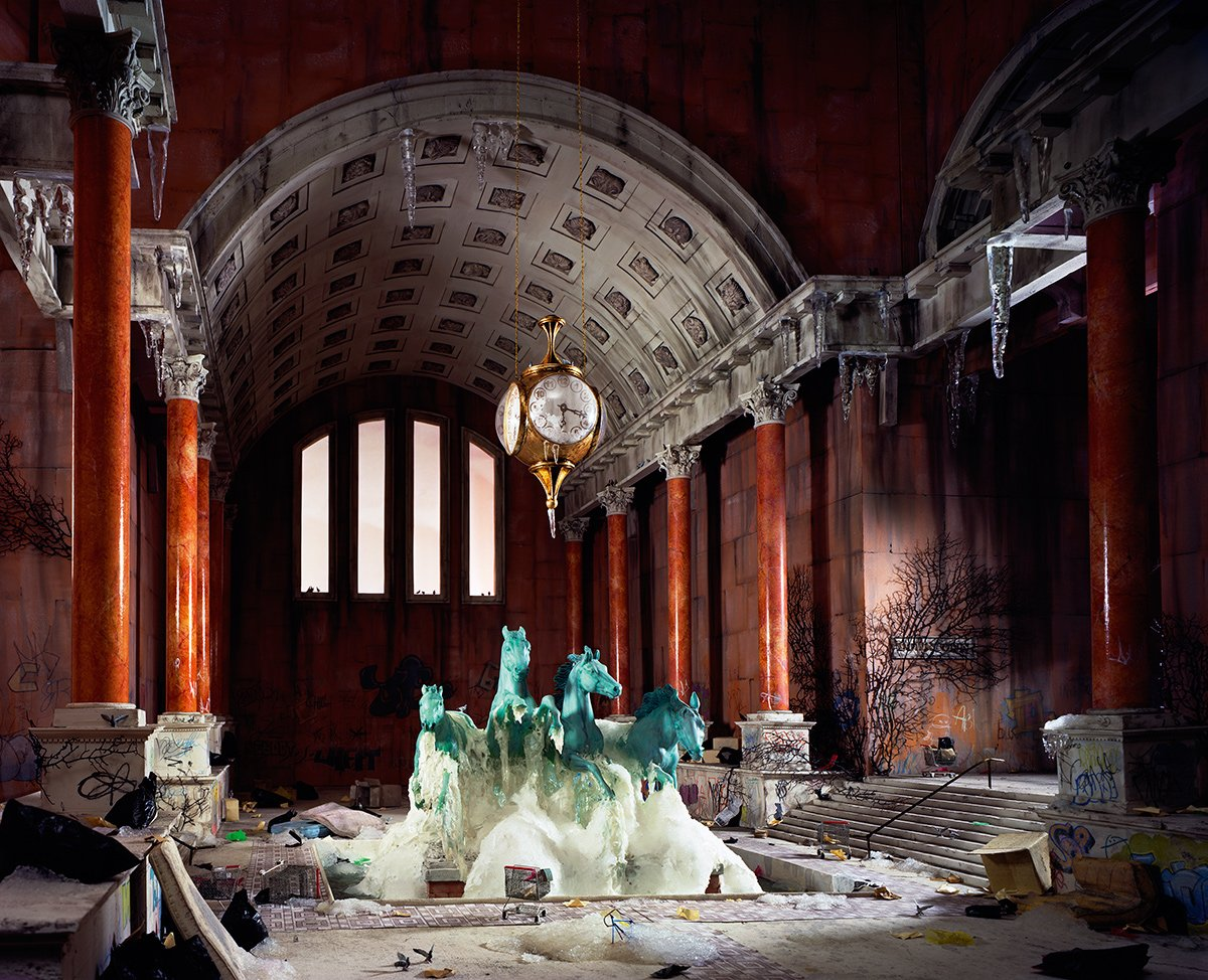 Fotos mostram lugares abandonados em um mundo pós-apocalíptico que em realidade são dioramas 06