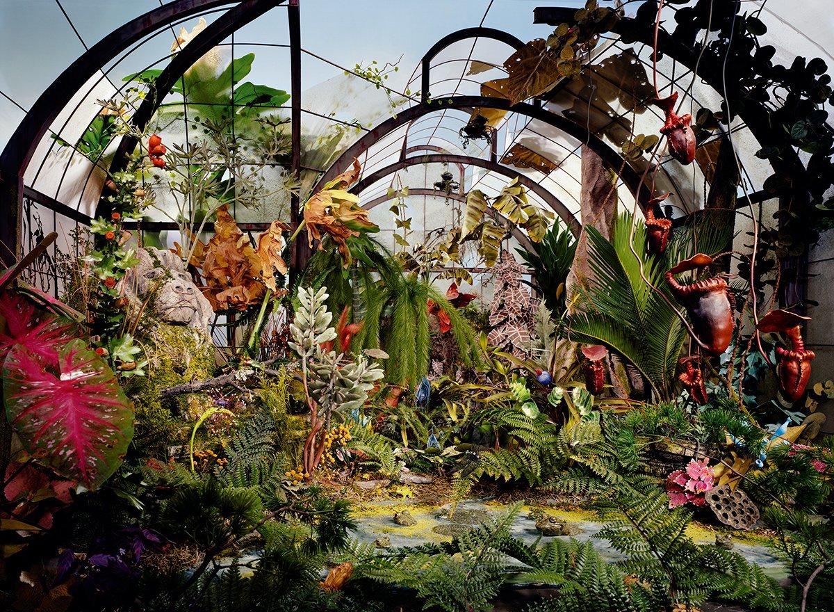 Fotos mostram lugares abandonados em um mundo pós-apocalíptico que em realidade são dioramas 11