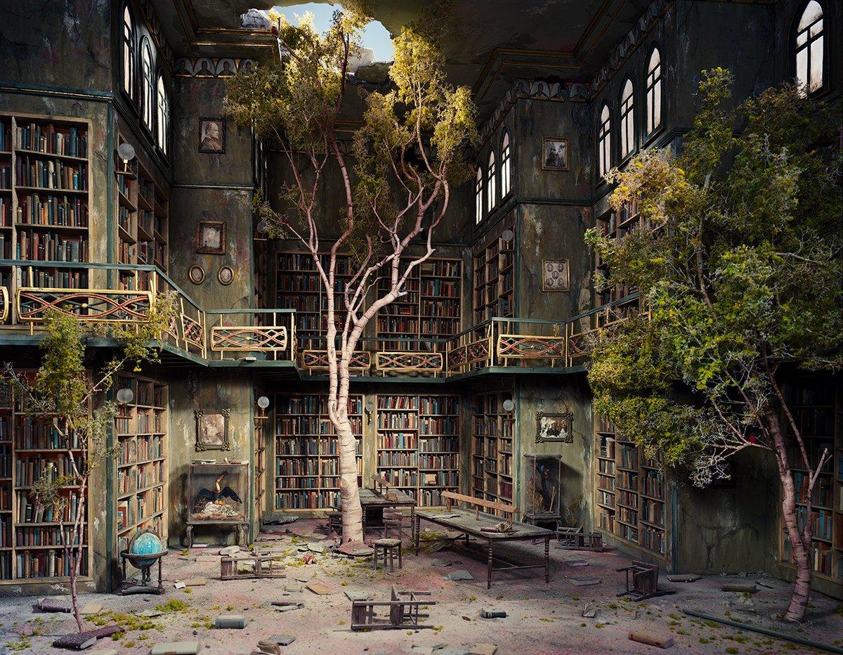 Fotos mostram lugares abandonados em um mundo pós-apocalíptico que em realidade são dioramas 12
