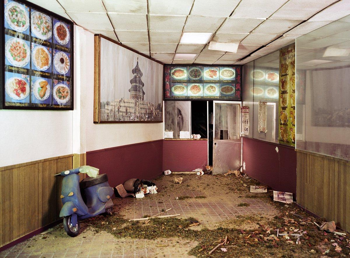 Fotos mostram lugares abandonados em um mundo pós-apocalíptico que em realidade são dioramas 15