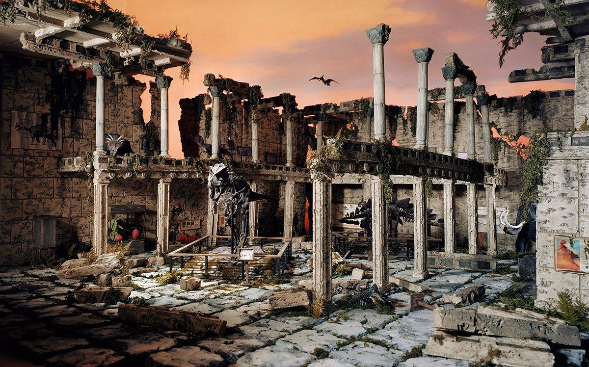 Fotos mostram lugares abandonados em um mundo pós-apocalíptico que em realidade são dioramas 16