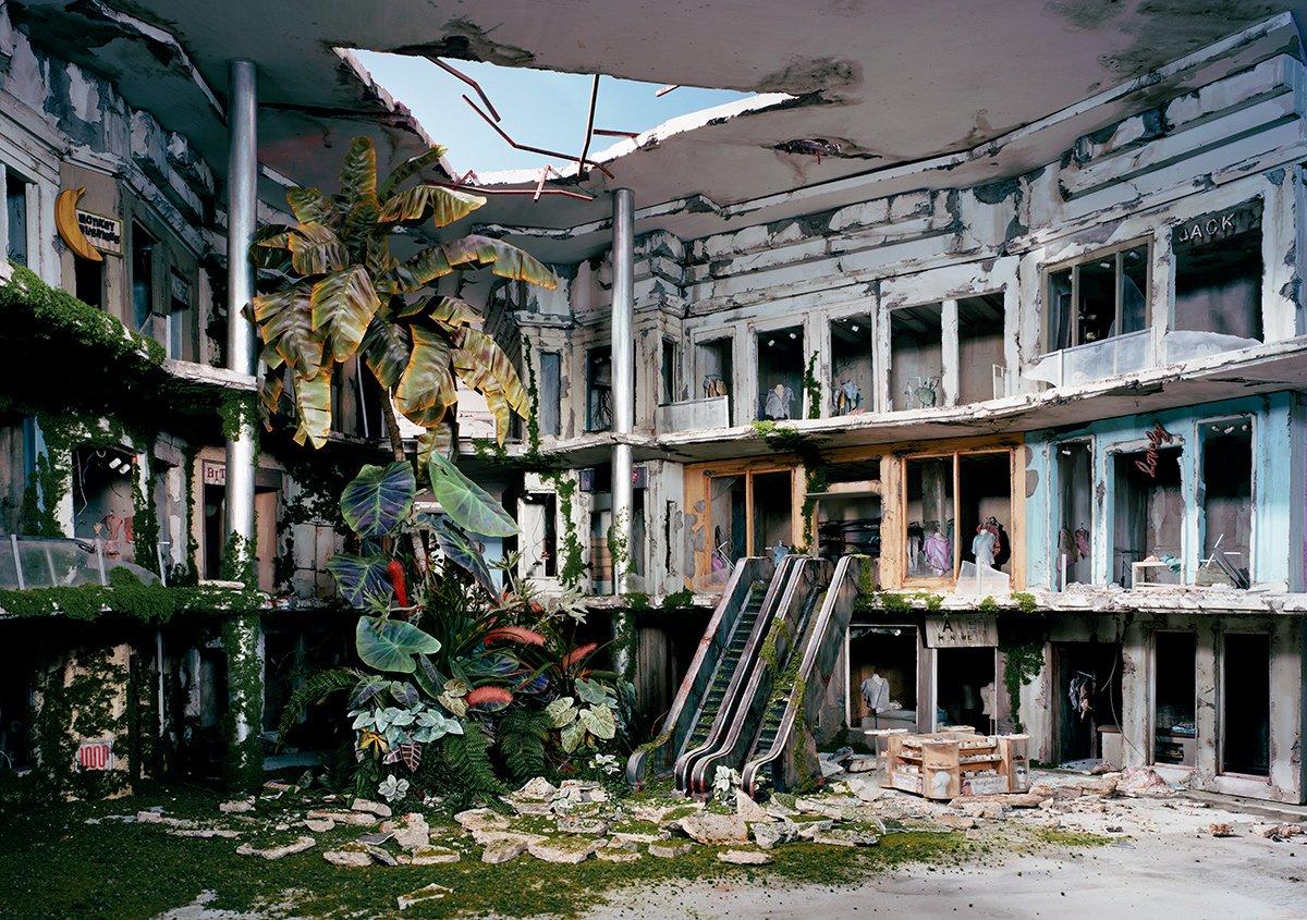 Fotos mostram lugares abandonados em um mundo pós-apocalíptico que em realidade são dioramas 18