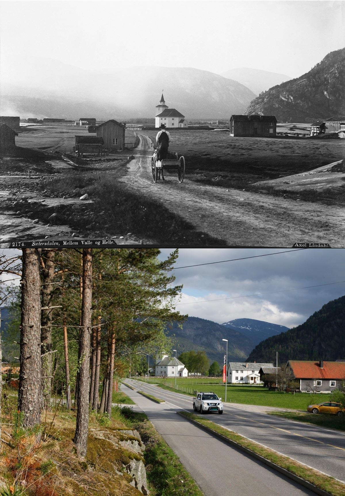Noruega antes e após o petróleo: a transformação do país em imagens 02