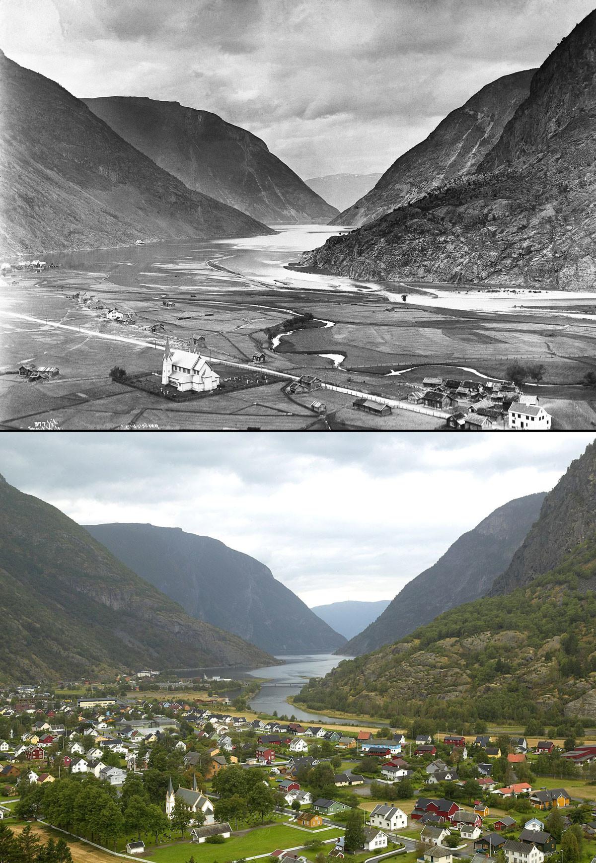 Noruega antes e após o petróleo: a transformação do país em imagens 05