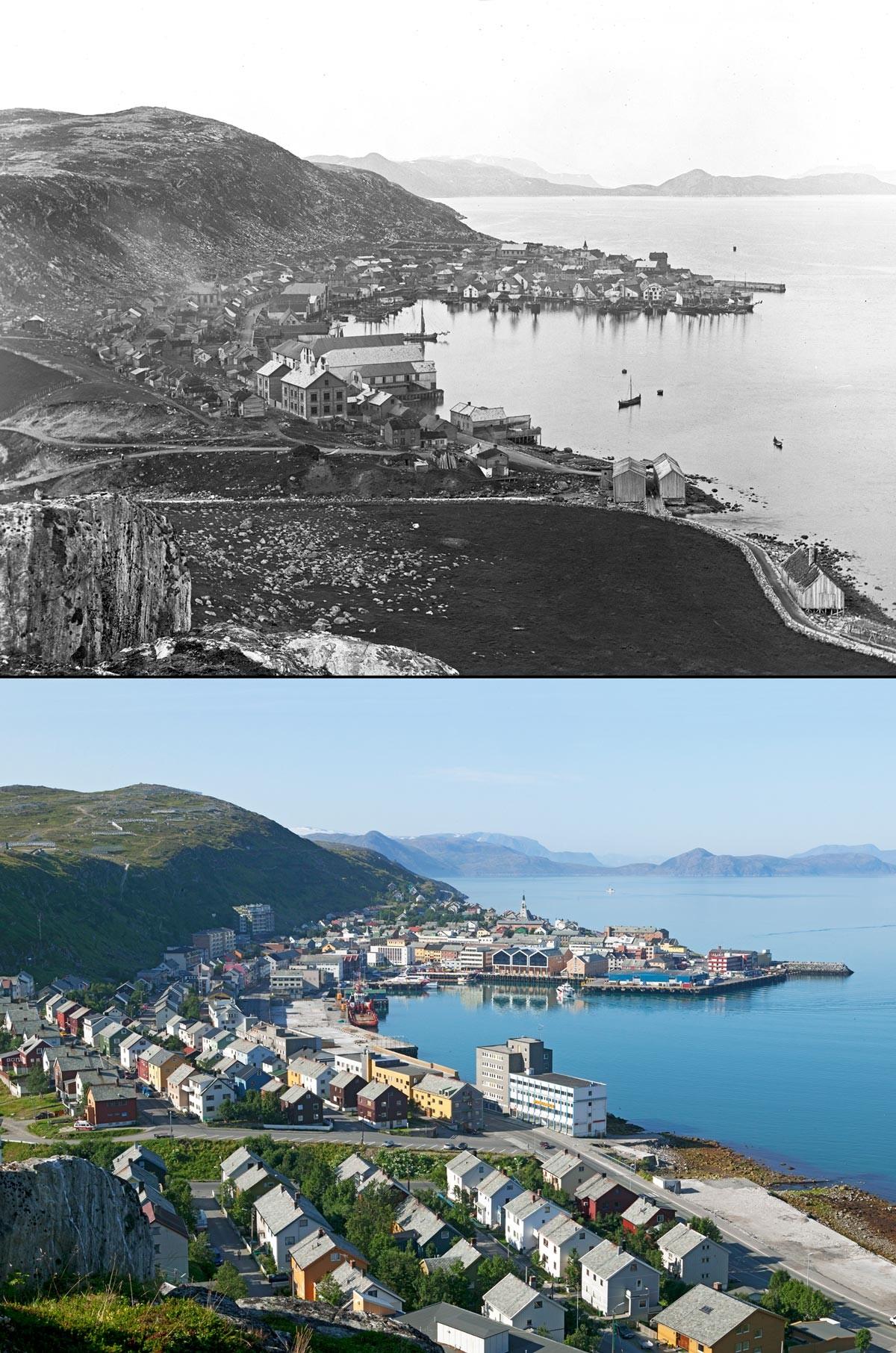 Noruega antes e após o petróleo: a transformação do país em imagens 07