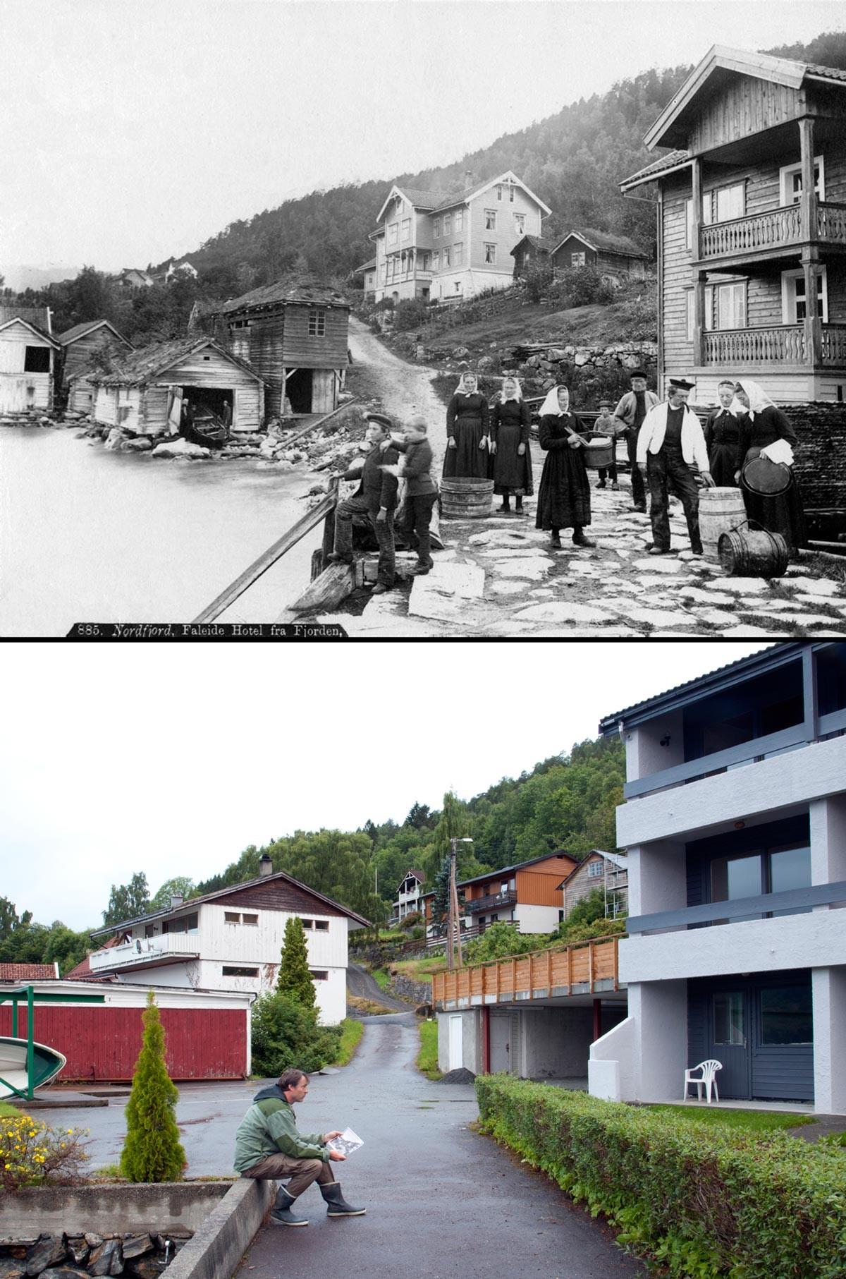 Noruega antes e após o petróleo: a transformação do país em imagens 09