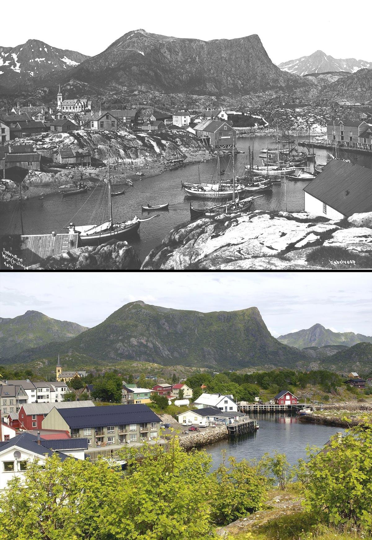Noruega antes e após o petróleo: a transformação do país em imagens 11