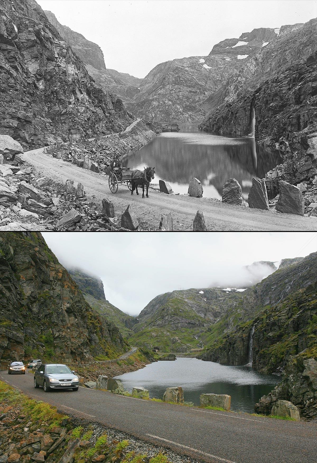 Noruega antes e após o petróleo: a transformação do país em imagens 12