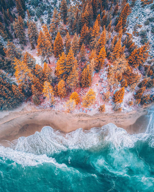 Imagens aéreas de paisagens vibrantes do fotógrafo Niaz Uddin 03