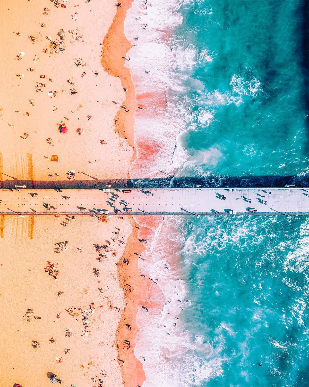 Imagens aéreas de paisagens vibrantes do fotógrafo Niaz Uddin 04