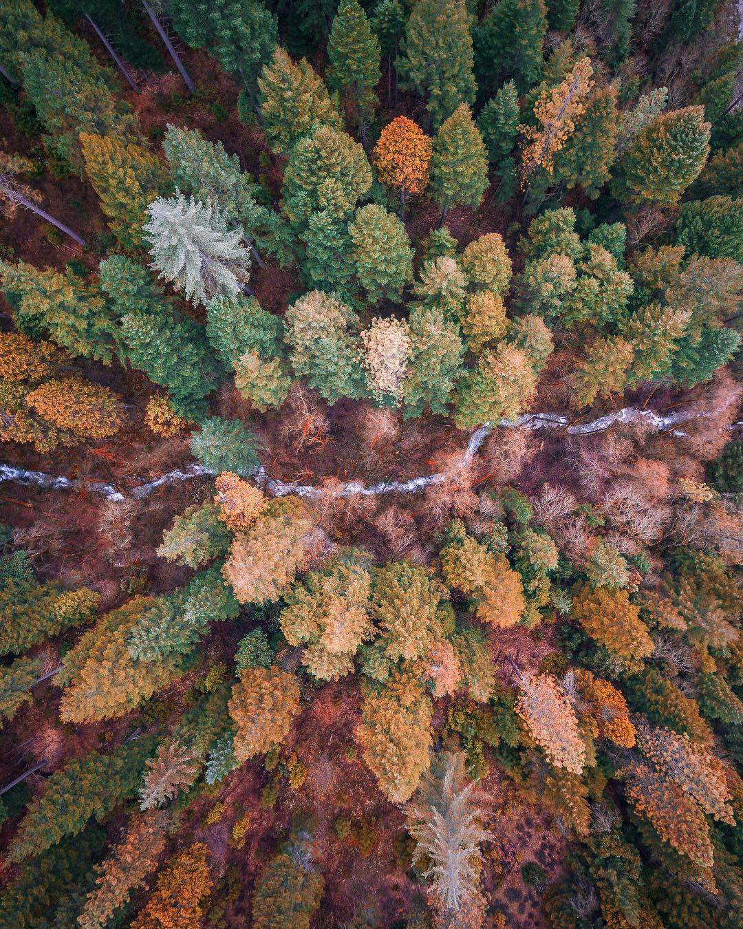 Imagens aéreas de paisagens vibrantes do fotógrafo Niaz Uddin 10