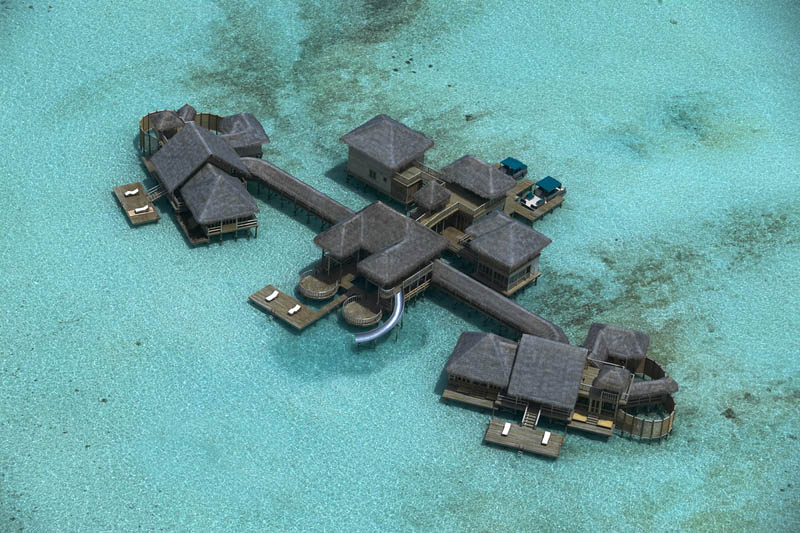 As incríveis palafitas de Soneva Gili nas Maldivas, onde seus sonhos de verão estão roncando 13