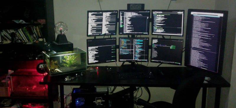 Surpreendentes estações de computador 12