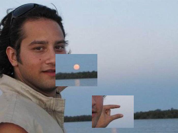 Alguém poderia fotochopar o sol entre meus dedos? 07